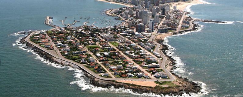 Vista aerea de la Peninsula esteña